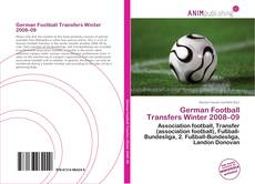 Bookcover of German Football Transfers Winter 2008–09