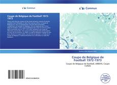 Bookcover of Coupe de Belgique de Football 1972-1973