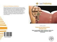 Patriarcat Orthodoxe d'Antioche kitap kapağı