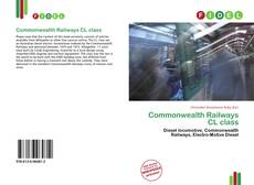 Bookcover of Commonwealth Railways CL class