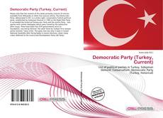 Democratic Party (Turkey, Current) kitap kapağı