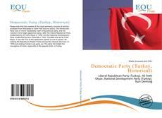 Обложка Democratic Party (Turkey, Historical)