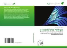 Portada del libro de Génocide Grec Pontique