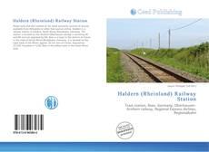 Bookcover of Haldern (Rheinland) Railway Station