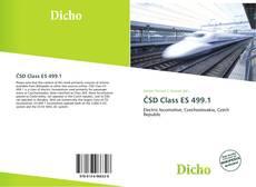 Обложка ČSD Class ES 499.1