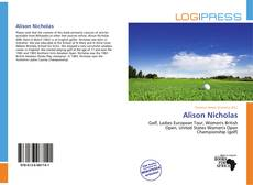 Bookcover of Alison Nicholas