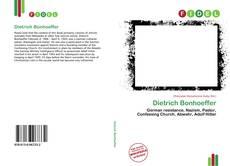 Dietrich Bonhoeffer的封面