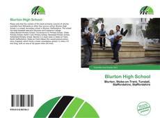 Bookcover of Blurton High School