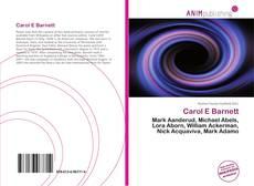 Bookcover of Carol E Barnett