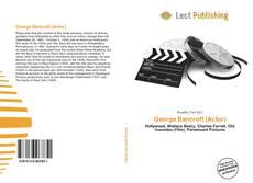 Buchcover von George Bancroft (Actor)