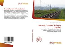 Bookcover of Botanic Gardens Railway Station