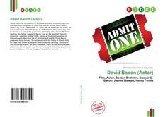 David Bacon (Actor)的封面