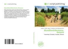 Обложка Blandford-Blenheim, Ontario