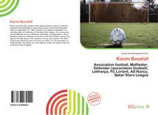 Bookcover of Karim Boudiaf