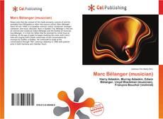 Portada del libro de Marc Bélanger (musician)
