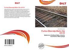 Portada del libro de Furka-Oberalp-Bahn Ge 4/4 III