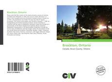 Copertina di Brockton, Ontario