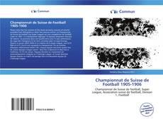 Capa do livro de Championnat de Suisse de Football 1905-1906