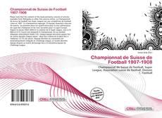 Capa do livro de Championnat de Suisse de Football 1907-1908