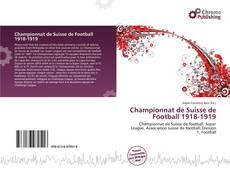 Capa do livro de Championnat de Suisse de Football 1918-1919