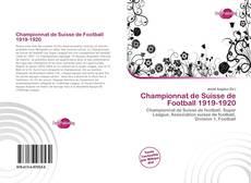 Capa do livro de Championnat de Suisse de Football 1919-1920