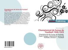 Capa do livro de Championnat de Suisse de Football 1928-1929