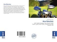Bookcover of Ana Sánchez