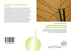 Capa do livro de James Abercrombie (British Army colonel)