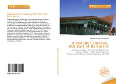 Portada del libro de Alexander Lindsay, 6th Earl of Balcarres