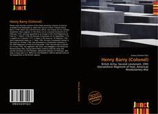 Capa do livro de Henry Barry (Colonel)
