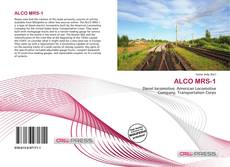 Buchcover von ALCO MRS-1