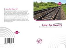 Capa do livro de British Rail Class EF1