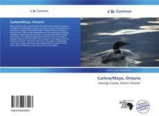 Capa do livro de Carlow/Mayo, Ontario