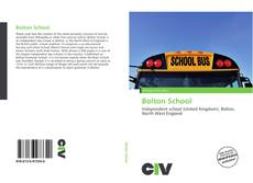 Bookcover of Bolton School