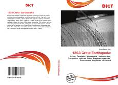 Bookcover of 1303 Crete Earthquake