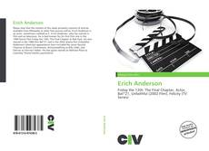 Bookcover of Erich Anderson