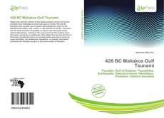 426 BC Maliakos Gulf Tsunami kitap kapağı