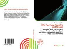 Bookcover of 1984 Northern Sumatra Earthquake