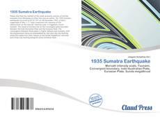 Bookcover of 1935 Sumatra Earthquake