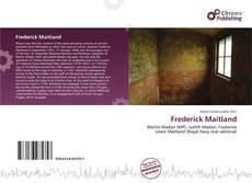 Couverture de Frederick Maitland