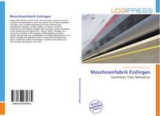 Обложка Maschinenfabrik Esslingen