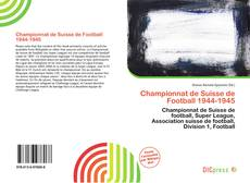 Championnat de Suisse de Football 1944-1945 kitap kapağı