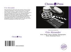 Capa do livro de Cris Alexander