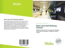 Bookcover of Bala Lake Halt Railway Station