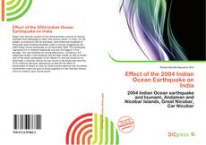 Bookcover of Effect of the 2004 Indian Ocean Earthquake on India