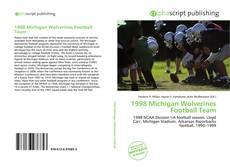 Buchcover von 1998 Michigan Wolverines Football Team