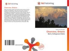 Clearview, Ontario kitap kapağı