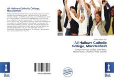 Portada del libro de All Hallows Catholic College, Macclesfield