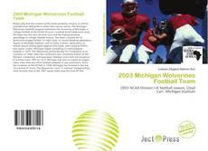Обложка 2003 Michigan Wolverines Football Team