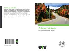 Bookcover of Coleman, Ontario